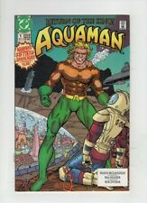 """AQUAMAN #1 NM-, """"A Small World Incident"""", DC 1991, low cost, sweet, sharp copy"""