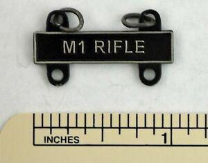 M1 RIFLE MARKSMANSHIP BADGE TAB / BAR - BAR ARMY QUALIFICATION ATTACHMENT
