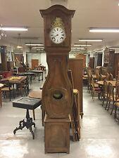 Horloge noyer époque XIX siècle mouvement horlogerie