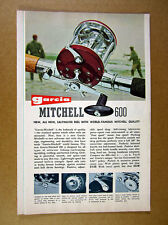 1964 Garcia Mitchell Baitcasting Spinning Fishing Reels Rods 10 page fold-out Ad