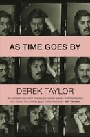 As Time Goes By by Derek Taylor 9780571342662 | Brand New | Free UK Shipping