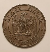 10 centimes 1863 A Napoleon III SUP