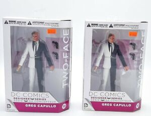 """MIB DC Collectibles Designer Series 3 Two-Face 6.5"""" Greg Capullo Action Figure"""