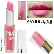 New Maybelline Superstay 14hr Long Lasting Lip Color Lipstick 455 Burst Of Coral