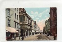 """""""""""POSTCARD GUILDHALL & HIGH STREET,EXETER,DEVON,DATED 1905"""""""""""