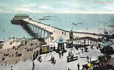Hastings,U.K.The Pier,East Sussex,c.1909