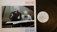 Carol Kidd --Nice Work--Linn Records AKH 006 Record NM