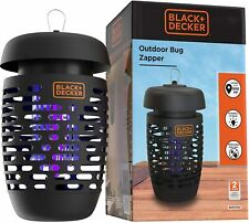 BLACK+DECKER Bug Zapper Electric Insect Control Indoor & Outdoor 625 Square Feet