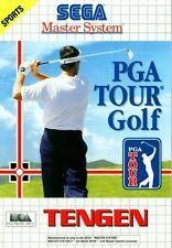 PGA Tour Golf - SEGA Master System (Complete & Good Condition)