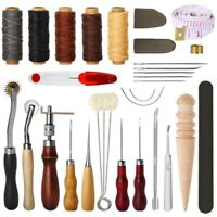 31 Pcs Leather Sewing Tools Diy Leather Craft Tools Hand Stitching Tool Set N1B3