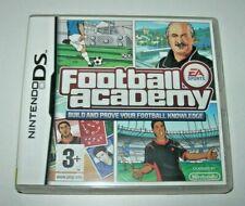 Football Academy - Nintendo DS (PAL UK en inglés)