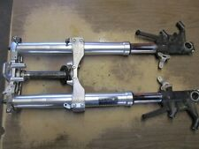 08 09 Kawasaki ZG1400 Concours Front Forks Triple Trees Steering Stem Set