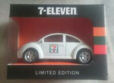 White 7-Eleven 7-11 1:43 Diecast Minicar Minicar Volkswagen VW Beetle Car