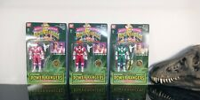 Bandai Green Red Pink Mighty Power Rangers Legacy Collection Auto Morphin Figure