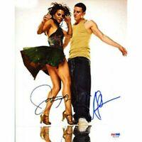 Channing Tatum & Jenna Dewan-Tatum Autographed Step Up 8x10 Photo (PSA/DNA)