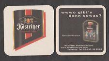Bierdeckel - Coaster ,Schwarzbierbrauerei KÖSTRITZER ,Bad Köstritz/Thüringen#4#