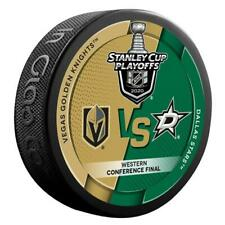 2020 DALLAS STARS VEGAS GOLDEN KNIGHTS STANLEY CUP PLAYOFFS PUCK WCF IN STOCK