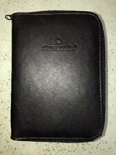 Samsonite Leather Passport Wallet & Identification holder. Zips for security NIB