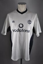 Manchester United maillot taille XL 2000-2001 Training Vodafone Umbro shirt