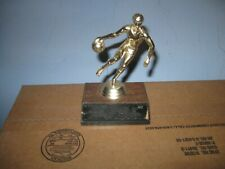 Vintage Small Basketball Statue Trophy 5 1/2 Inches B1
