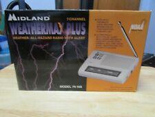 Vintage Midland 7 channel Weathermax plus radio new model:74-109