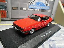 FORD Capri Coupe 3 MKIII 2.8i 1981 red rot V6  Solido 1:43