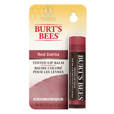 Burt's Bees Tinted Lip Balm Red Dahlia 5ml. Included