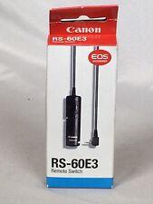 CANON Remote Switch RS-60E3 for EOS 7 7s 5S 90D 80D 70D 60D M6 M5 PowerShot G16