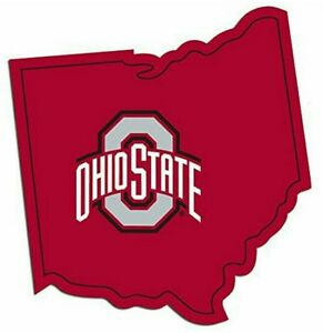 Ohio State Buckeyes Home State Vinyl Decals Football NEW!