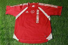 AJAX AMSTERDAM HOLLAND 2005/2006 FOOTBALL SHIRT JERSEY TRAINING ADIDAS ORIGINAL