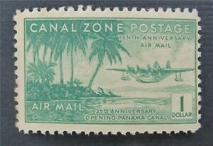 nystamps US Canal Zone Stamp # C20 Mint OG H    S17y868
