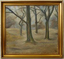 Unbek. Expressionist » Waldinterieur « monogr. SS ~1920