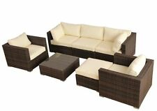 Garten-Tische & Bank-Sets aus Aluminium mit bis zu 6 Sitzplätzen