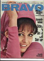 BRAVO Nr.24 von 1965 Pierre Brice, Robert Fuller, Mick Jagger, Claudia Cardinale