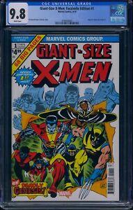 Giant Size X-Men 1 (Marvel) CGC 9.8 White Pages Facsimile Edition Reprint