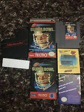 Nintendo NES Tecmo Super Bowl Complete CIB