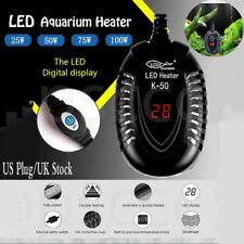 100W Aquarium Heater Fish Tank LED Digital Submersible Adjustable Thermostat US