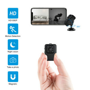 Camera Mini Baby Monitor HD 1080P Night Vision Motion Detection Wifi Security TA