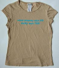 Women's Ladies FUNNY T shirt Top size large L