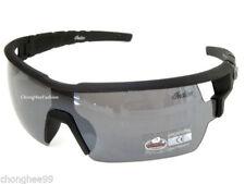 Shield Anti-Reflective Plastic Frame Sunglasses for Men