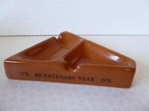 Armitage Shanks Bicentenary Year Ashtray 1776 - 1976 Gerald Ford Elizabeth II