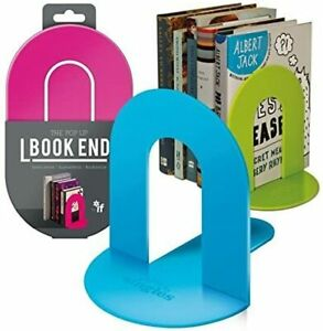 NEW! If Pop Up Book End Singles Indvidual Folding Book End Holder Stand