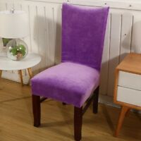 Chair Cover Dining Elastic Stretch Chair Slipcover Chair Seat Cover Protector