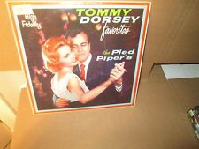 TOMMY DORSEY FAVORITES - THE PIED PIPER'S rare Vinyl Lp (Golden Tone) VG+