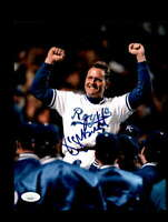 George Brett JSA Coa Hand Signed 8x10 Photo Autograph
