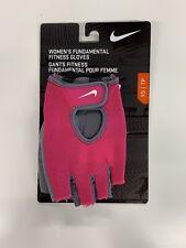 Nike Women's Fundamental Fitness Training Gloves, Pink, X-Small, New