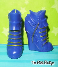 MONSTER HIGH COFFIN BEAN CLAWDEEN WOLF DOLL REPLACEMENT PURPLE BOOTS SHOES ONLY
