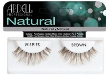 Ardell Wispies BROWN False Eyelashes - Premium Quality Fake Lashes!