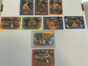 2021 Panini Prizm UFC Octagon Prizm Misha Cirkunov 2/8 + Lot Cowboy Orange MORE