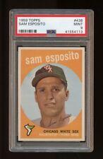 1959 Topps Set Break #438 - Sammy Esposito PSA 9 MINT